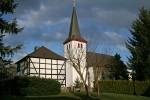 Pingsdorf - Kirche St. Pantaleon und altes Küsterhaus