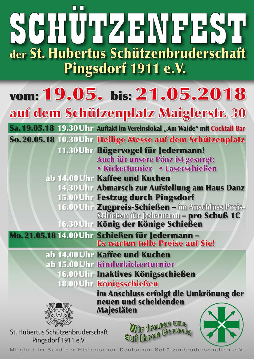 Schützenfest der St. Hubertus Schützen