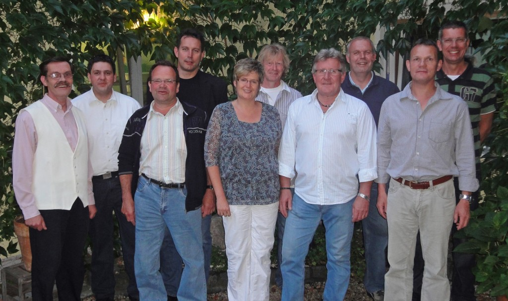 Der neue Vorstand der Dorfgemeinschaft