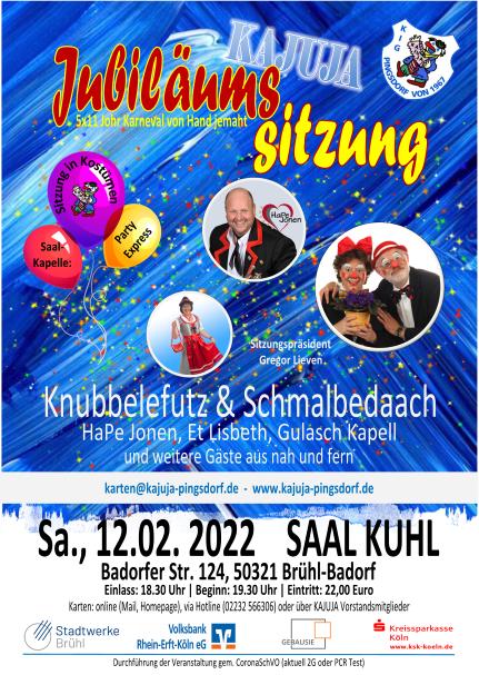 Jubiläumssitzung der KaJuJa